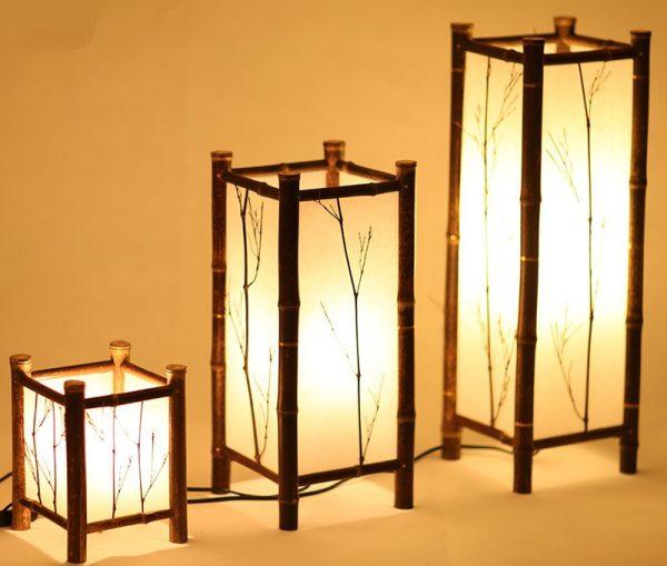 Напольные лампы в японском стиле