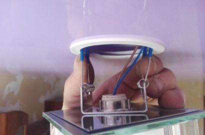 Монтаж встраиваемого светильника