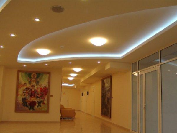 Виды потолочных светодиодных светильников