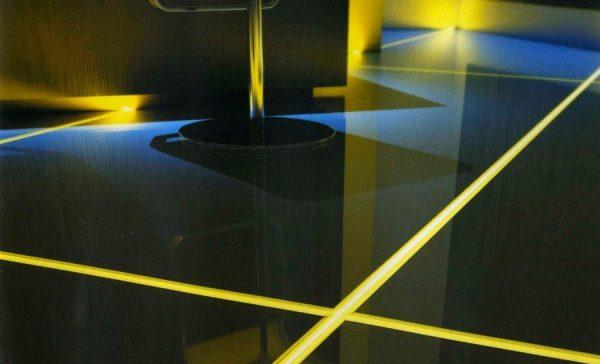 Встраиваемые системы освещения в плитку и полы