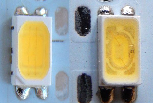 Выход из строя led-диода
