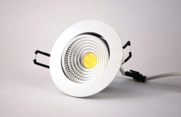 Замена галогенных ламп в точечных светильниках