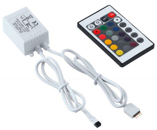 Неработоспособность LED-ленты может быть вызвана поломкой пульта или контроллера