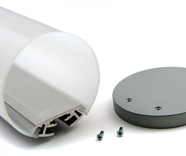 Светодиодный профиль круглой формы