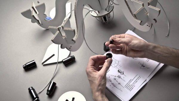 Материалы для изготовления люстры своими руками