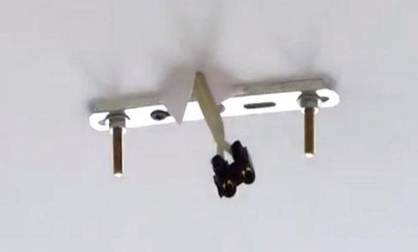 Крепежная рейка для монтажа светильника на потолок
