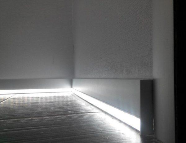Рассеиватели делают световой поток более равномерным