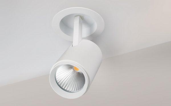 Поворотный светильник для подвесного потолка