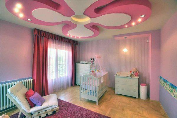 Осветительные приборы в детской должны располагаться вне досягаемости ребенка
