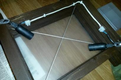 Самостоятельное изготовление потолочного светильника