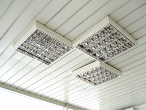 Светильники растровые для подвесных потолков