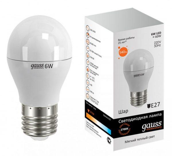 LED-лампа с заявленным временем работы 25 лет