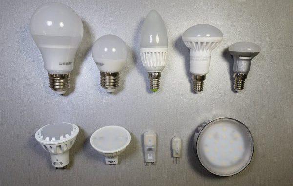 В потолочных светильниках все чаще используют LED-лампы