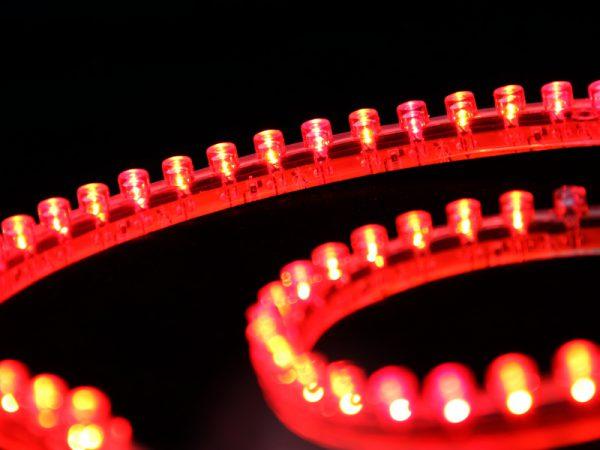 Торцевая светодиодная лента на DIP-диодах