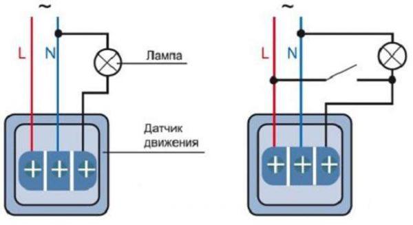 Схема подключения инфракрасного датчика к LED-ленте