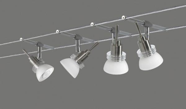 Трековая система установки светильников