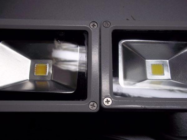 По мере эксплуатации снижается яркость светодиодного прожектора