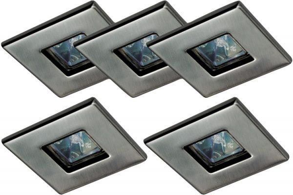 Квадратные галогенные светильники на потолок