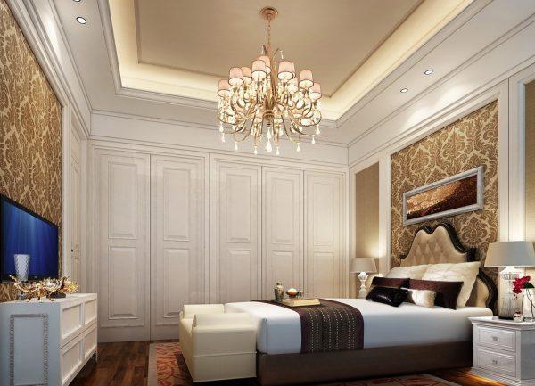 Подвесная люстра для высоких потолков