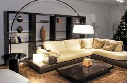 Использование напольного светильника в квартире