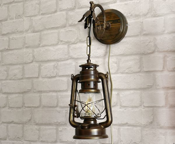 Бра Керосиновая лампа в ретро стиле