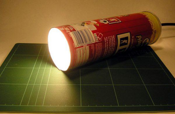 Самодельный ночник с направленным световым потоком