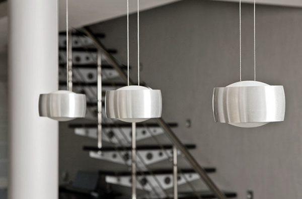 Подвесные точечные светильники в стиле хай-тек
