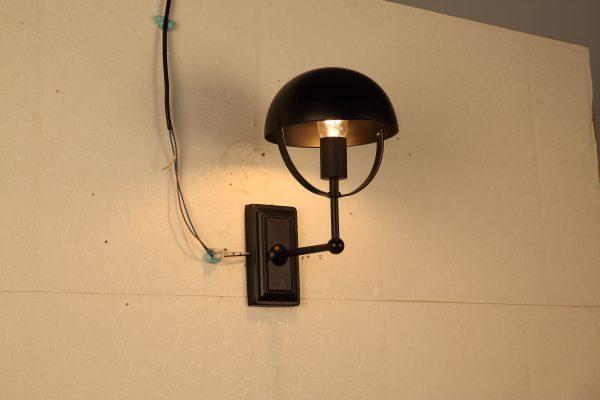 Порядок монтажа и установки настенного светильника