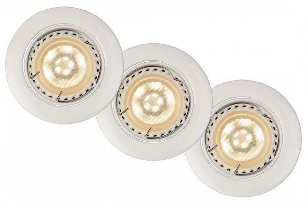 Точечные светодиодные осветительные приборы отличает низкое энергопотребление и долгий срок службы