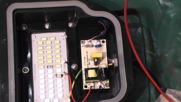 Замена блока питания LED-прожектора