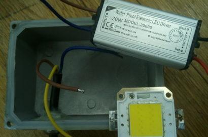 Самостоятельная починка LED-прожектора