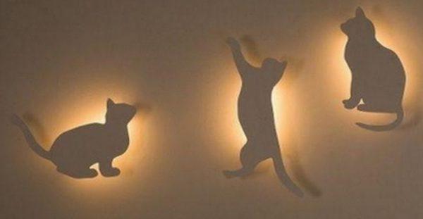 Самодельные ночные светильники из фанеры
