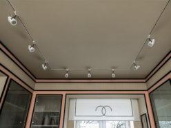 Светильники на натяжном потолке