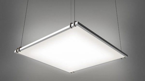 Подвесной светильник квадратной формы