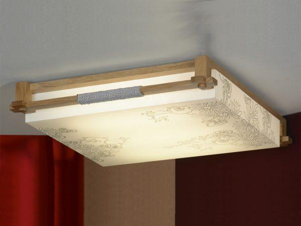 Плоский потолочный светильник должен обеспечивать равномерный световой поток в вертикальной плоскости
