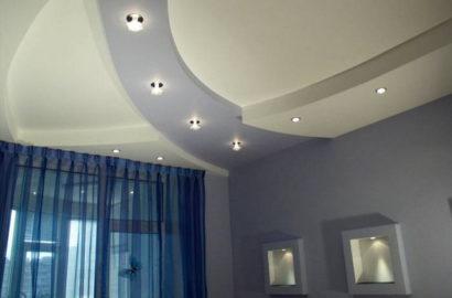 Точечные светильники для гипсокартонных потолков