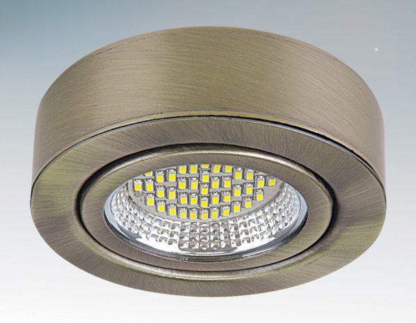 Точечный LED-светильник накладного типа