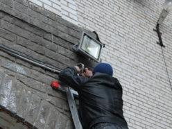 Подключение LED-прожектора