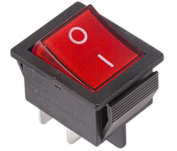 Светодиодный прожектор может мигать из-за подключения через выключатель с подсветкой