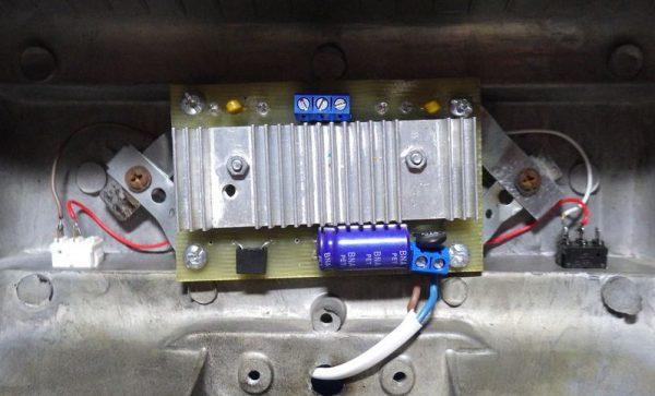 Замена конденсатора в LED-прожекторе