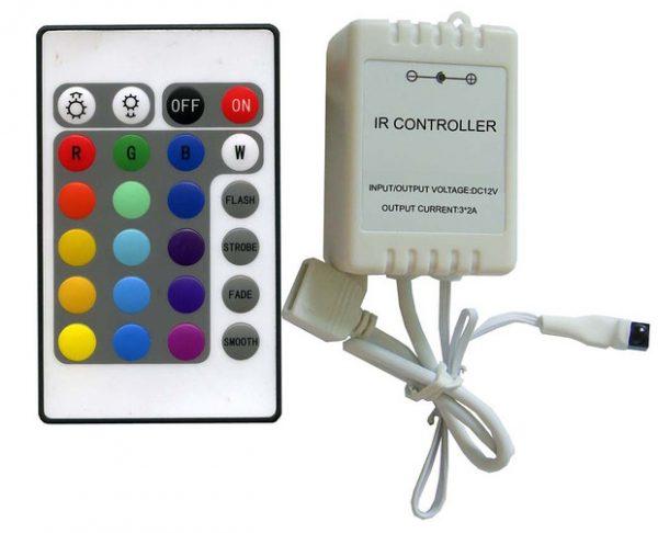 Контроллер для RGB ленты с пультом ДУ