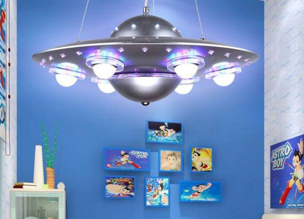 Космическая тематика оформления детской комнаты