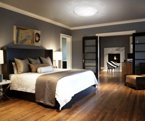Накладной потолочный светильник в спальню