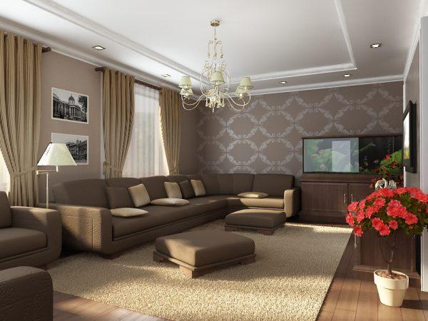 Подвесные светильники следует использовать в помещениях с высоким потолком