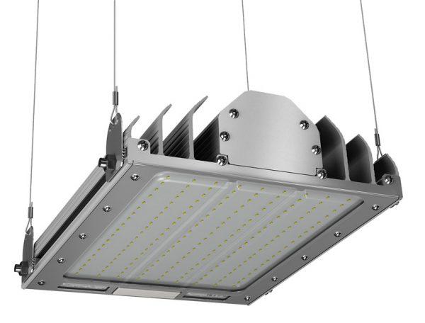 Светодиодный промышленный светильник с регулируемой длиной подвеса