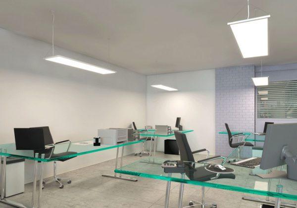 Подвесные светодиодные панели для офиса