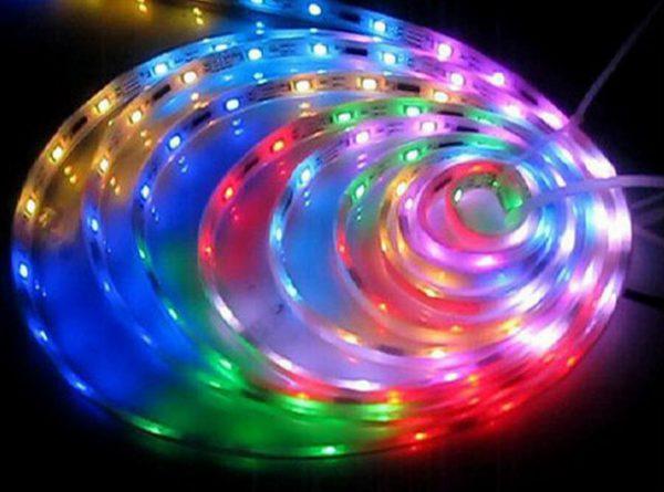 Влагозащищенная светодиодная лента RGB