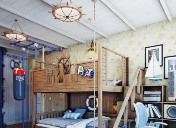 Дизайн люстры должен соответствовать интерьеру комнаты
