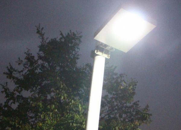 Уличные LED-светильники имеют низкое энергопотребление