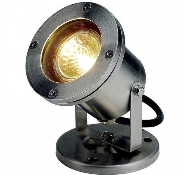 Галогеновый уличный светильник для дачи